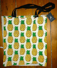 Cute Pinapple Cotton Tote Bag - Primark Ladies Shopping Bag