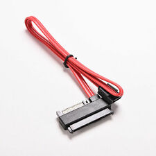 0.5M SATA to SAS HDD SFF-8482 SAS Ports Data Cable Plus 15Pin Power Connector LT