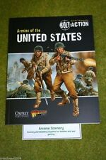BOLT ACTION ARMIES OF THE UNITED STATES Supplement World War Two wargames rules