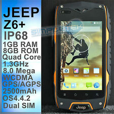 ART.249 JEEP Z6+ SMARTPHONE IP68 IMPERMEABILE, ANTIURTO, ANTIPOLVERE, ANDROID