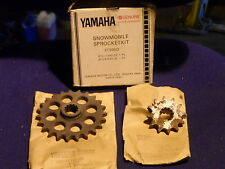 YAMAHA GENUINE ET250 ET300 CT30 BR250 SPROCKET KIT SNOW MOBILE 8F3-47548-30 NOS