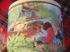 RARE VINTAGE WIND IN THE WILLOWS TIN