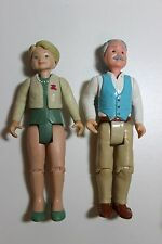 Fisher Price Loving Family Doll House Accessory Part Grandpa Grandma Figure