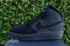 NIKE AIR FORCE 1 HI DCN MILITARY BT SZ 10 BLACK 525316 011