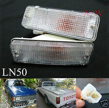 1984-1988 Toyota Pickup 1984-1989 Toyota 4Runner Turn Signal Light Bumper bar