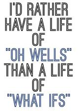 Motivational inspirational quote positive life poster picture print wall art 057