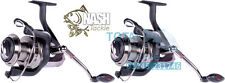 NASH Tackle NEW H-Gun BP-10 Big Pit Quick Drag Carp Fishing Reels x 2