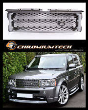 05-09 Range Rover SPORT GREY Grill  NEW 2010 Look w/FREE Land Rover Badge NEW!!