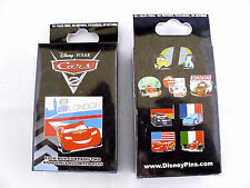 Disney * CARS * New & Sealed 2-Pin Mystery Box - Lightning McQueen Tow Mater