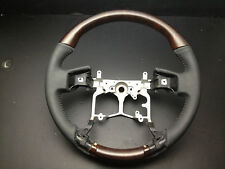 MIT Toyota 4Runner 2012-up wood leather wrapped steering wheel