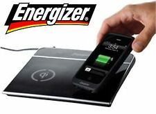 Energizer Dual Qi Wireless Charger Inductive Charging Pad Port-USB Port Station