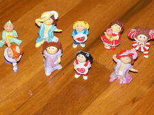 Vintage 1984 Cabbage Patch Kids Mini figures Lot of 9