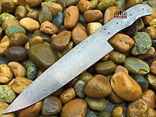 CUSTOM MANUFACTURED DAMASCUS STEEL CHEF BLANK BLADE FOR KNIFE MAKING (7K-193)
