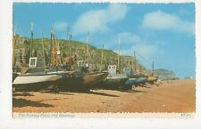 The Fishing Fleet Old Hastings Old Postcard 255a