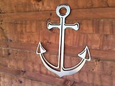 Anchor Nautical Metal Wall Art Home Decor Outdoor Patio Garden