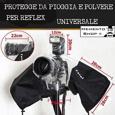 COPERTURA IMPERMEABILE FOTOCAMERA camera ANTIPIOGGIA  REFLEX protezione pioggia