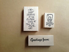Mounted Rubber Stamps, Camping, RV-ing, Travel, Motorhomes, Vacation, Campers