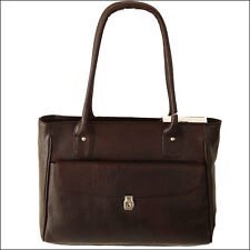 Women's Handbag Purse Genuine Leather Tote Bag Shopper Brown  New Fashion