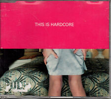 THIS IS HARDCORE/PULP CD SINGE