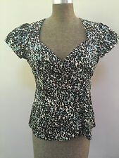 Stella structured top - size 10 -  as new