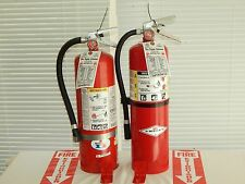 Fire Extinguisher - 10Lb ABC Dry chemical  - Lot of 2 (blemished)