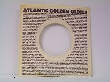 2-ATCO GOLDEN OLDIES  COMPANY 45's SLEEVES  LOT # A-717