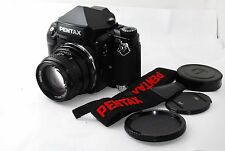 "Pentax 67II Medium Format SLR Film Camera with 105mm f/2.4 "" Excellent ""#0962"