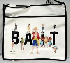 authentic Anime One Piece Ruffy Tony Chopper x BAIT Group Tote Bag (white)