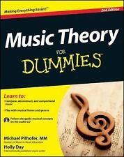 Music Theory for Dummies by Holly Day and Michael Pilhofer (2011, Paperback) NEW