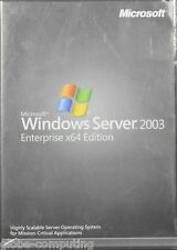 RETAIL Microsoft Windows Server 2003 x64 Enterprise 25 CAL