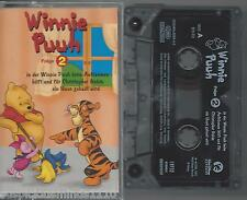 MC Winnie Puh Folge 2 Mit Rückenbild Cover Walt Disney süss für Kinder