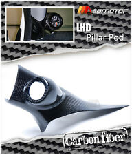 Carbon Fiber Interior LHD Front A Pillar Pod for Mitsubishi Evolution X EVO 10