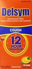 Delsym 12 Hour Cough Relief Orange Flavor 5 oz Each