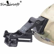 Tactical Airsoft Combat Night Vision Goggle Mount KIT For FAST Helmet NVG Black