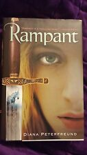 Rampant by Diana Peterfreund 2009 HCDJ First Edition/1st Ptinting SIGNED