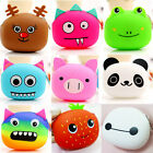 Cute Women Cartoon Style Coin Purses Rubber Clutch Cash Bag Ladies Wallet New