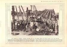 1915 Warsaw Bridge Repair Vistula Berlin Celebrates