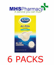 6x Scholl Air Pillo Comfort Shoe Insoles Cut to Size