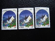 IRLANDE - timbre yvert et tellier n° 817 x3 obl (A32) stamp ireland (A)