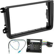 VW PASSAT 2005  DOUBLE DIN STEREO FITTING KIT FACIA WIRING ADAPTOR PANEL FASCIA