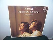 """WHAM! EVERYTHING SHE WANTS (12"""" single)"""