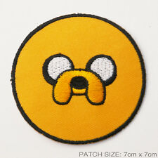 """ADVENTURE TIME """"JAKE"""" Embridered Iron-On Patch - UK Seller, Free Post, #2U02"""