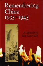 Remembering China 1935-1945 (MVP)