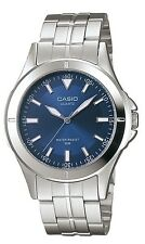 Casio MTP1214A-2A Men's Standard Casual Analog Stainless Steel Blue Dial Watch
