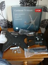 Logik LFMM14 TV Wall Mount Bracket Full Motion to Vesa 400 x400 MISSING FITTINGS