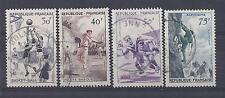 France - n° 1072 à 1075 - timbres oblitérés