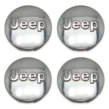 4- FREE SHIPPING Jeep Liberty Grand Cherokee Wrangler Wheel Center Caps Hubcaps