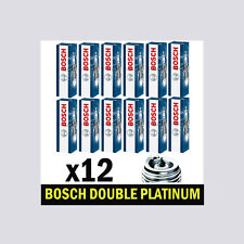 12x Bosch Platinum Spark Plugs for MERCEDES CLK 2.6 3.2 CLK240 CLK320 M112