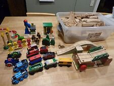 Thomas the train Wooden lot of trains