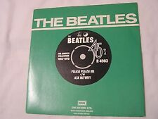 The Beatles 45 & Picture Sleeve from single collection-PLEASE PLEASE ME/ASK ME W